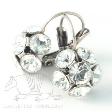 Swarovski Crystal Earrings by Moliere