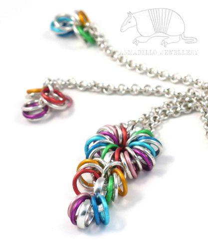 Aluminium Jewellery, Long Chain