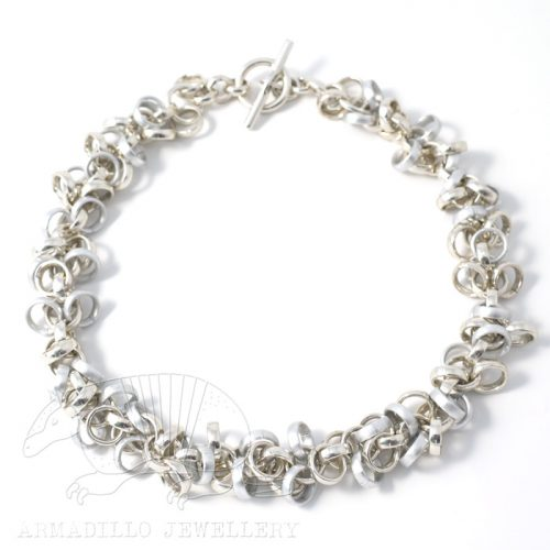 Al-Waterfall-necklace-Silver-Mix