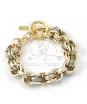 Al-big-chain-olv:g-bracelet