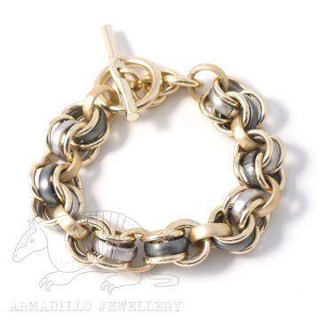 Al-chain-bracelet-anthracite g
