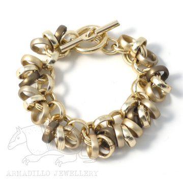 Chain 12 Bracelt Olive  g