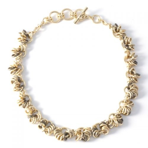 Chain-15-Necklace-Olive-gold