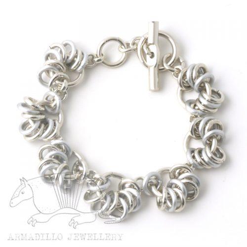Chain-15-bracelet-silver-mix