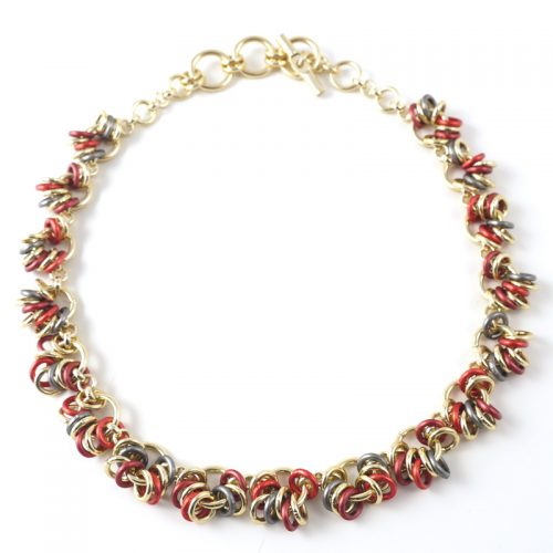 Chain-15-necklace-red-anth-gold