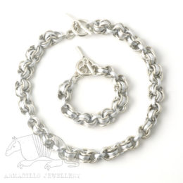 Chain 4 set silver
