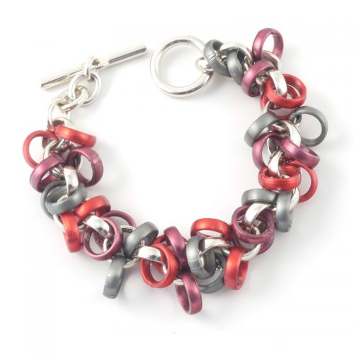 Chain-9-Bracelet-Red-Anthracite-s