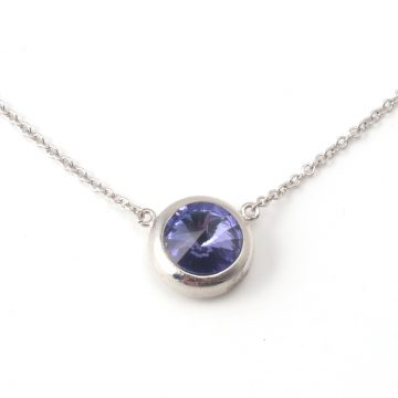 Necklace-6286-Tanzanite
