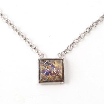 Necklace-K6111-Square-Velvet