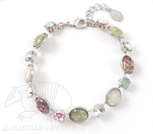 Pink-mint-bracelet