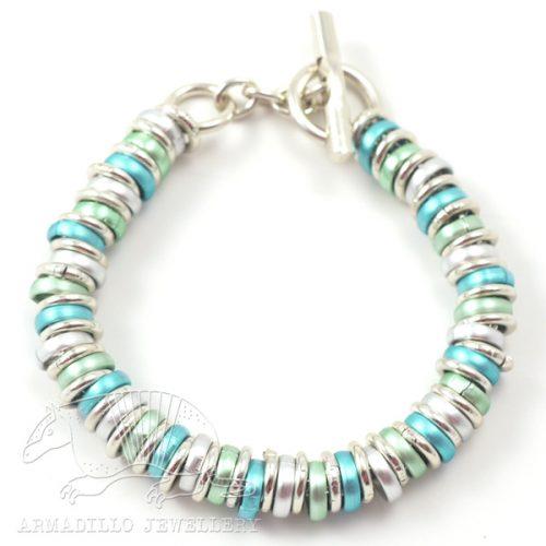 RRK-bracelet-aqua-mint-silver