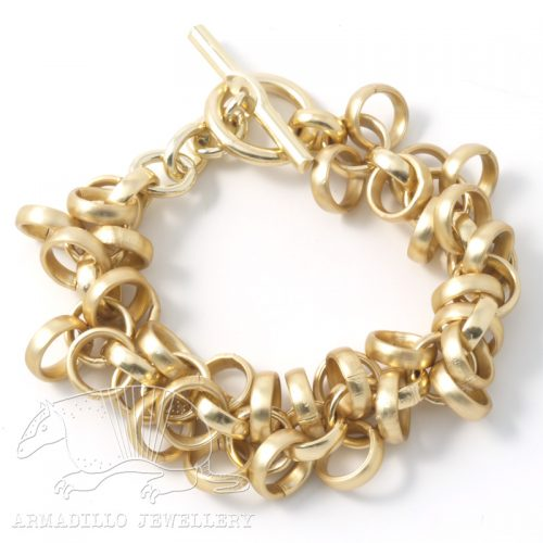 Waterfall-bracelet-gold