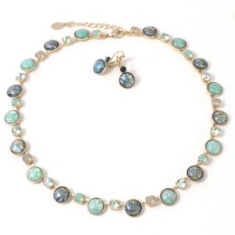 Mint-gold-Necklace-and-Earrings