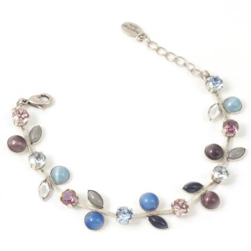 Leaf-Design-Bracelet-Plum-Blue
