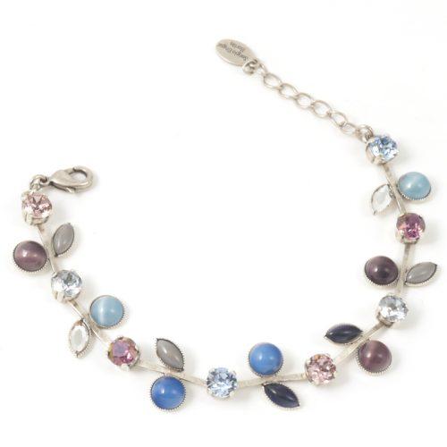 Leaf-Design-Bracelet-Plum-Blue