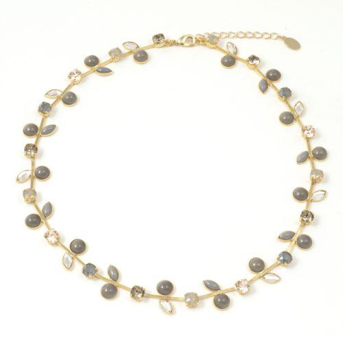 Sergio-Leaf-Necklace-Smoke-Gold