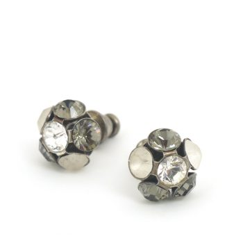 Swarovski Crystal Flower Studs by Moliere. Colour 587s