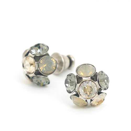 Swarovski Crystal Studs by Moliere Colour 588/s