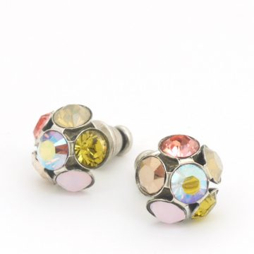Swarovski Crystal Studs by Moliere Colour 592/s