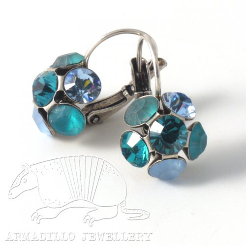 Swarovski Crystal Earrings by Moliere Colour 252s