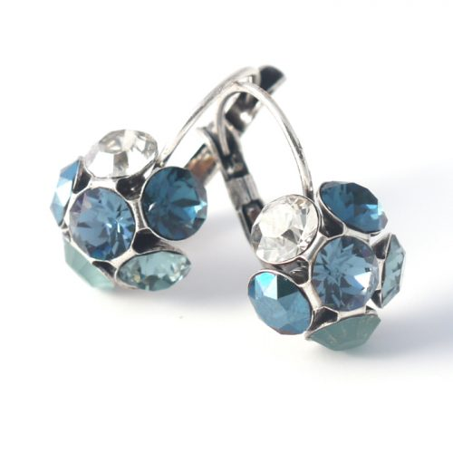 Swarovski Crystal Earrings by Moliere colour 332s