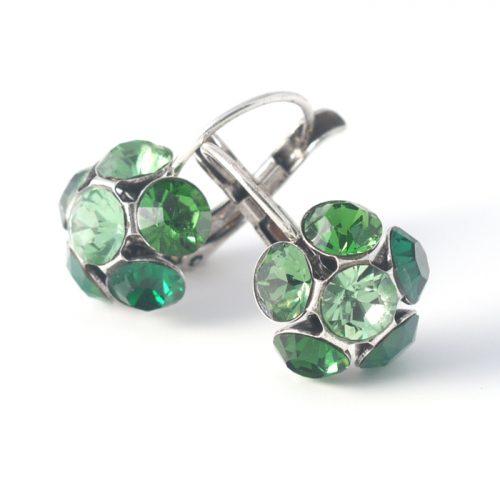 Swarovski Crystal Flower Earrings colour 333s