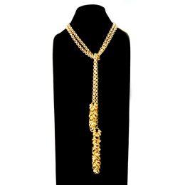 Chain-5-Long-Tie-Matt-Gold